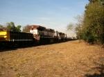 1238 e 1202 em duplex cruzando com a 1161 em locotrol em um minerio na locacao 50
