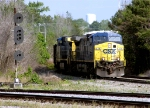 CSX 478 passes signal for amother track
