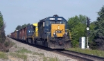 CSX 8236 passing turned signal