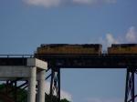 A Pair of SD70M's Cross the High Bridge