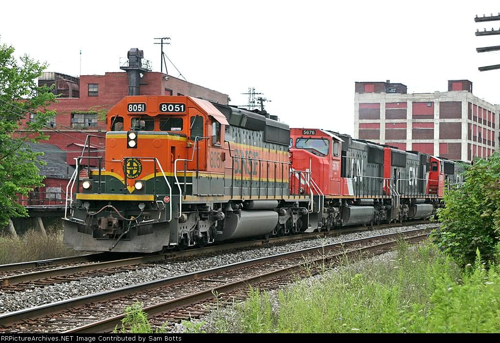 BNSF 8051