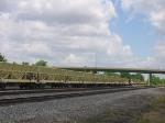 BNSF Ballast Train