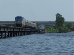 Crossing the Trent River