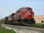 CP 8609 & NS 9917 on the point of X500-14