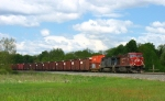 CP 9775 & CEFX 1051 pulling east with X500-16