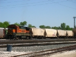 BNSF 8614 spending a day working Y103 on the west end