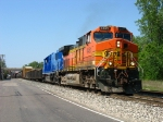 BNSF 4461 & CEFX 6019 leading Q334-18