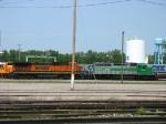 BNSF 8614 & GCFX 3066