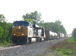 CSX 5484 & HLCX 8177 rolling east with X324-24