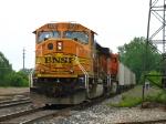 BNSF 9920 & 6018 leading E942