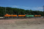 Lot's of BNSF power