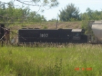 IC ENGINE # 3107 SITING IN THE YARD
