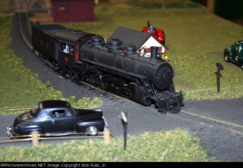 Friends of the East Broad Top(FEBT) Modular railroad