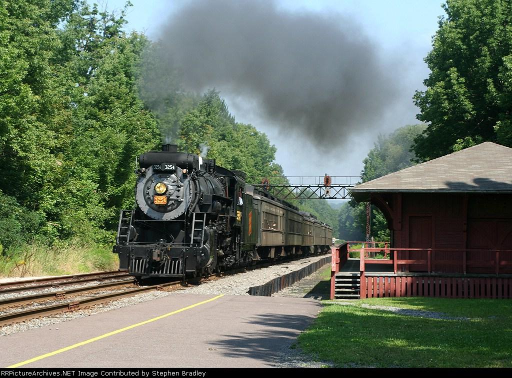 Steamtown train to Tobyhanna