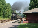 Steamtown train to Tobyhanna