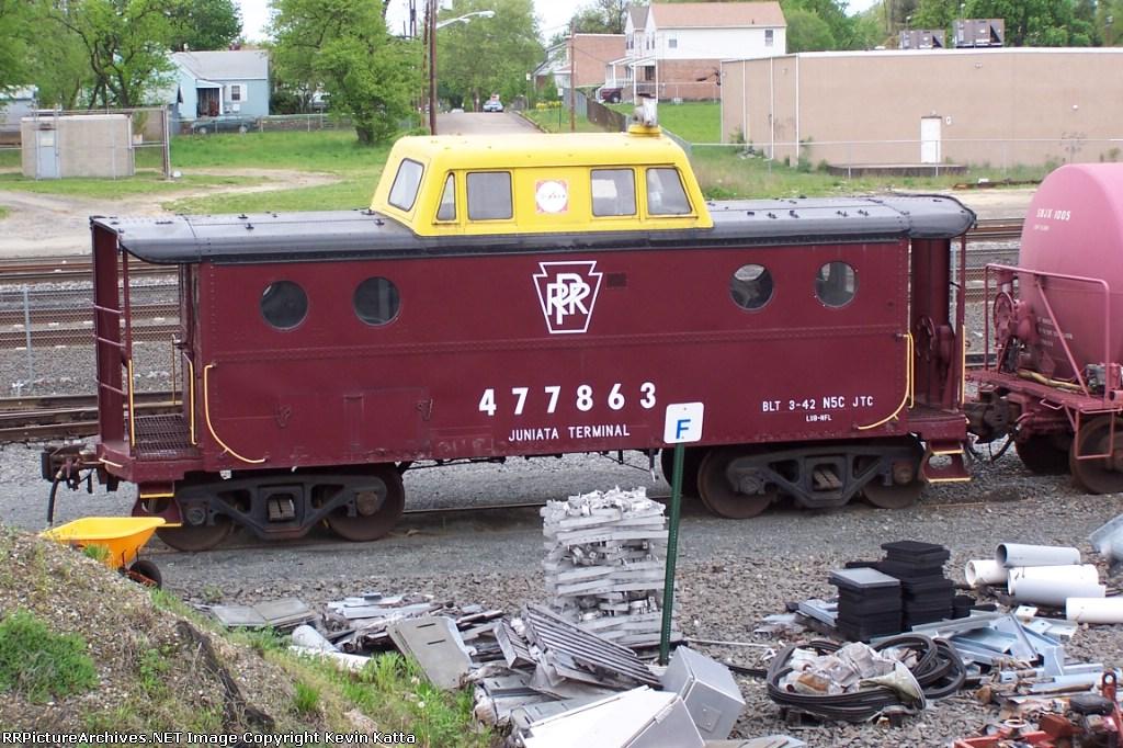 ex-PRR N5C cabin 477863