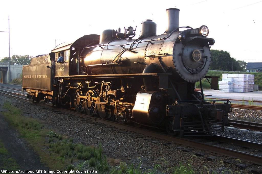 N&W 475 Strasburg Railroad