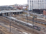 NJT 4410 and its consist heading for the East River Tunnels