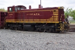 Juniata Terminal Shops MOW train -leased to the NJT River Line Light Rail in Camden-Pavonia NJ