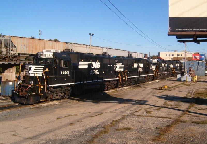 NS Dillerville Yard power