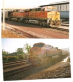 BNSF 5996, 5801 Lead a southboud coal with BNSF 5901 as the DPU