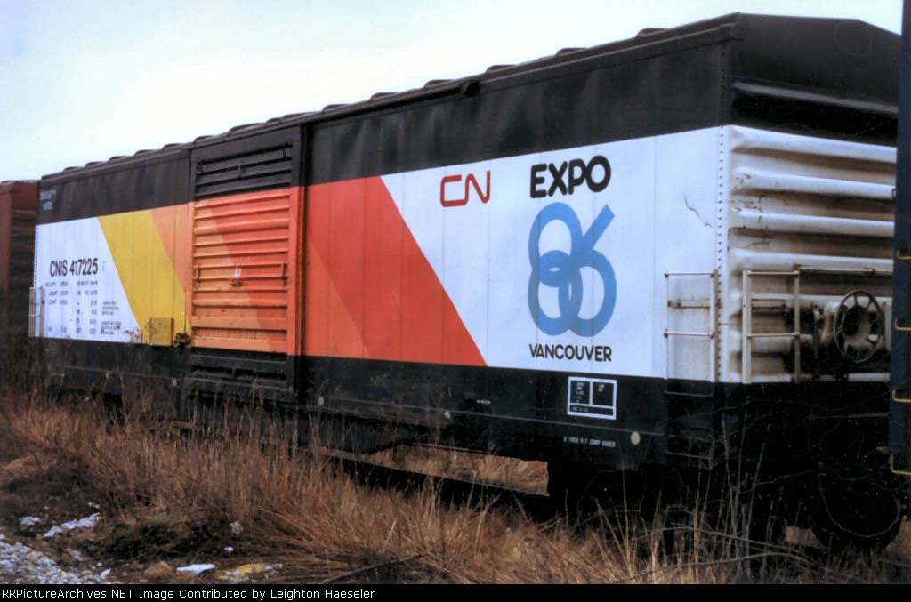CNIS 417225 in Expo 86 paint