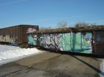 LBR 1032 with scrap load from Samuel's in Madison