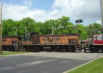 """WSOR 1503 with another sloppy attempt to patch out the """"MILWAUKEE ROAD"""" on the side"""