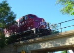 CP 8852 on the Garden Avenue overpass