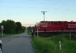 CP 8852 crossing Newville Road