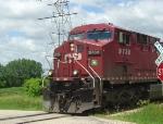 CP 9739 crossing Hammond Rd.