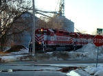 WSOR 4076 gets started back towards Janesville