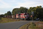 SD40-2 and GP38 elephant style grind across Door Creek Road