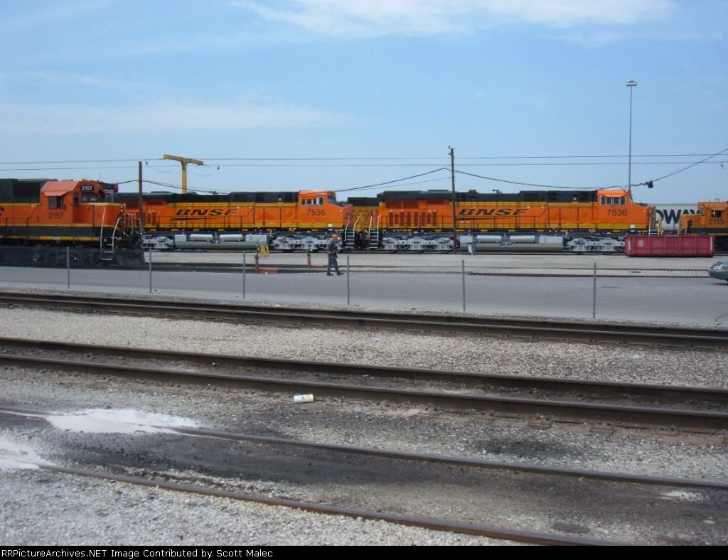 BNSF 7536 & 7535 (new)