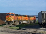 Among These is one of the Newest ES44AC Locomotives in the BNSF Fleet: #6238