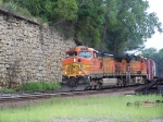 Two Dash-9Ws Lead Mixed Freight West