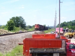 Eastbound CN Grain Train