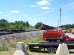 Canadian National Grain Train on its Way to Chicago