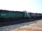 BNSF 8111 (SD60M) & BNSF 561 (B40-8W)