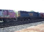 BNSF 561 (B40-8W) & CSX 8627 (SD50-2)