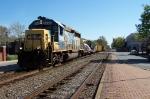 CSX 6295 leads a W code train