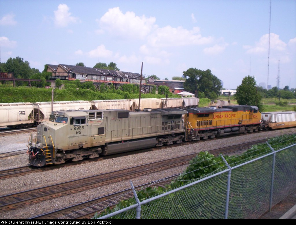 NS 9969 heads north
