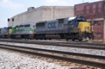 CSX 8500 heads south