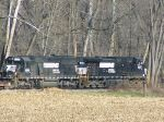 NS 9327 & NS 6669 Waiting in a grove of woods