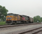 UP 6041 entering yard