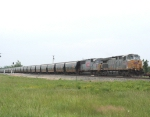 KCS 4575 Nafta with new grain cars