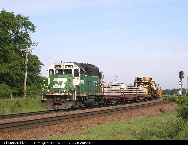 BNSF 1533 East