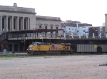 UP 5899 Passes the Former CB&Q Station