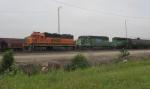 BNSF 2837, BNSF 7818, & BNSF 7240