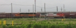 BNSF 573 & BNSF 8087